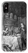 Descartes Teaching Queen Christina, 1649 IPhone Case