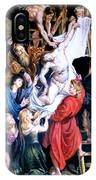 Descent From The Cross After Peter Paul Rubens IPhone Case