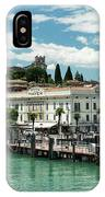Desenzano Del Garda Lake Garda Italy IPhone Case