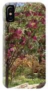 Desert Willow Tree IPhone Case
