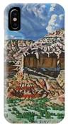 Ghost Ranch New Mexico IPhone X Case