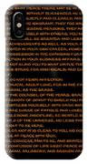 Desiderata 22 IPhone Case