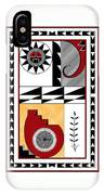 Southwest Collection - Design Five In Red IPhone Case