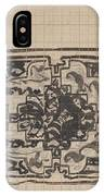 Design For A Binding For Charivaria, Carel Adolph Lion Cachet, 1874 - 1945 IPhone Case