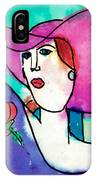Design Lady IPhone Case