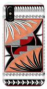 Southwest Collection - Design Three In Red IPhone Case