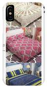 Designer Bed Sheet To Decor Home IPhone Case