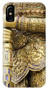 Detail From A Buddhist Temple In Bangkok Thailand IPhone Case