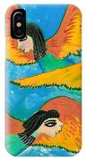 Detail Of Bird People Little Green Bee Eaters Of Upper Egypt 1 IPhone Case