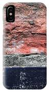 Detail Of Damaged Wall Tiles IPhone Case