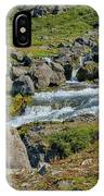 Detail Of  Dynjandi Waterfall IPhone Case