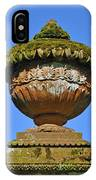 Detail Of Funerary Urn. IPhone Case