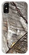 Detail Of Old Wood Sawn IPhone Case