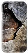 Detail Old Sawn Stump IPhone Case