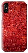 Detail Polished Red Coral IPhone Case