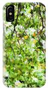 Detailed Tree Branches 4 IPhone Case
