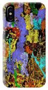 Detour Abstract Art IPhone Case