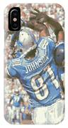 Detroit Lions Calvin Johnson 3 IPhone Case