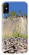 Devils Postpile Wide View IPhone Case