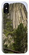 Devils Tower 10 IPhone Case
