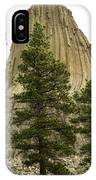 Devils Tower 4 IPhone Case