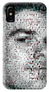 Dexter Blood Splatter Mosaic IPhone Case