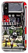 Dials And Hoses On Fire Truck IPhone Case