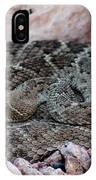 Diamondback Rattlesnake 062414a IPhone Case