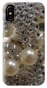 Diamonds And Pearls 2 IPhone Case