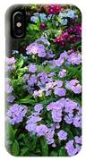 Dianthus Flower Bed IPhone Case