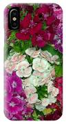 Dianthus Group  IPhone Case
