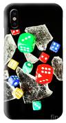 Dicing With Chance IPhone Case