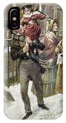 Dickens: A Christmas Carol IPhone Case