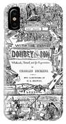 Dickens: Dombey And Son IPhone Case