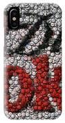 Diet Coke Bottle Cap Mosaic IPhone Case
