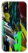 Digital Abstraction 070611 IPhone Case