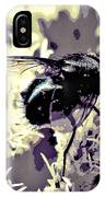 Digital Bottle Fly IPhone Case