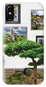 Digital Exhibition _ Bonsai 22 IPhone Case