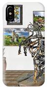 Digital Exhibition _ Statue Of Branches IPhone Case