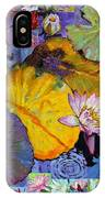 Digital Lilies IPhone Case