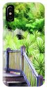 Digital Paint Landscape Jefferson Island  IPhone Case