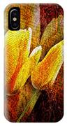 Digital Tulips IPhone Case