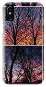 Digital Winter Trees IPhone Case
