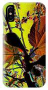 Figtree Leaves 4 IPhone Case