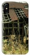 Dilapidated Barn Morgan County Kentucky IPhone Case