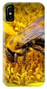 Diligent Pollinating Work IPhone Case