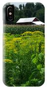 Dill Field Hudson Valley Ny IPhone Case