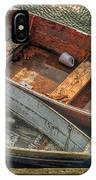 Dinghies At Rockport IPhone Case