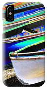 Dinghies On Beach IPhone Case