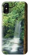 Dingmans Falls Dingmans Ferry Pennsylvania IPhone Case